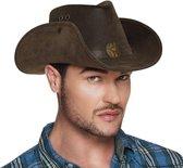 Cowboy Hoed Nevada (leatherlook)