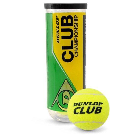 Dunlop Pro Tour Tennisballen 3 stuks