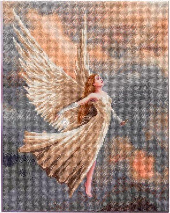 Diamond Painting Crystal Art Kit ® Ascendance, 40×50 cm, partial painting