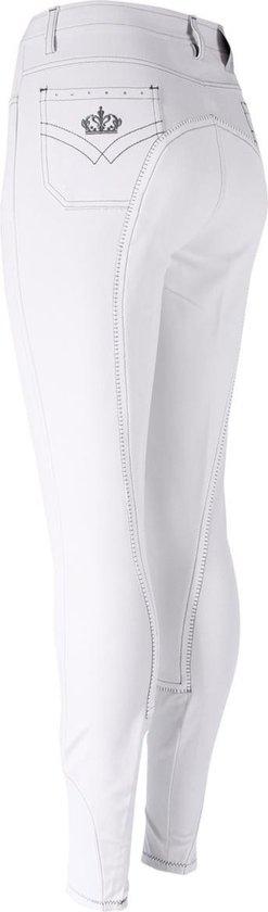 Epplejeck Rijbroek  Sparkle Leer - White - 80
