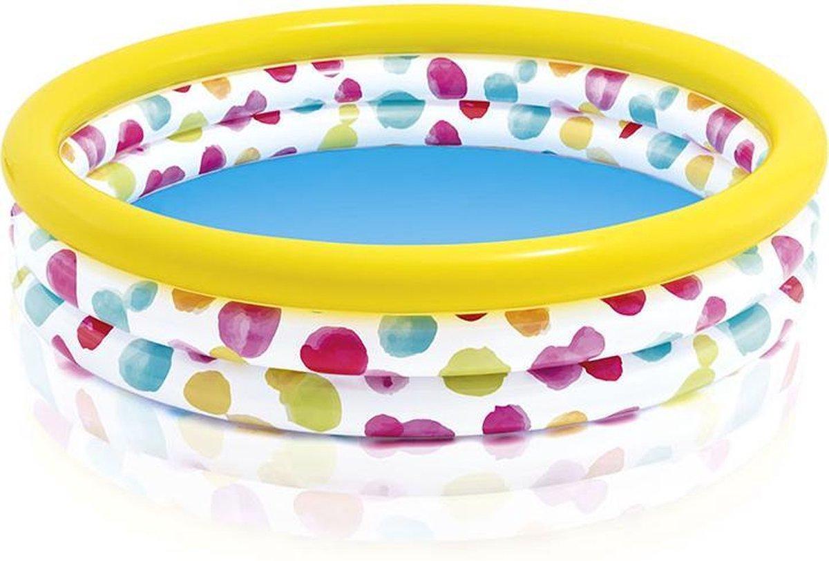 Kinderzwembad | Cool dots zwembad - Zwembad cirkels - 147 x 33 cm