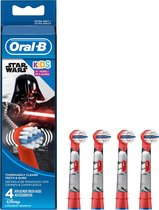 Oral-B Kids - 4 stuks - Opzetborstels
