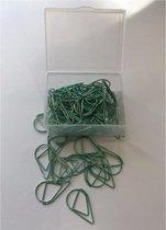ProductGoods - Paperclips Druppel Groen -2,5 cm - 50 stuks