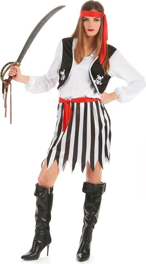 Piraten pak voor dames - Verkleedkleding - Large