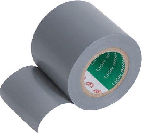 Isolatietape pvc grijs 50mmx20mtr  (1  rol)