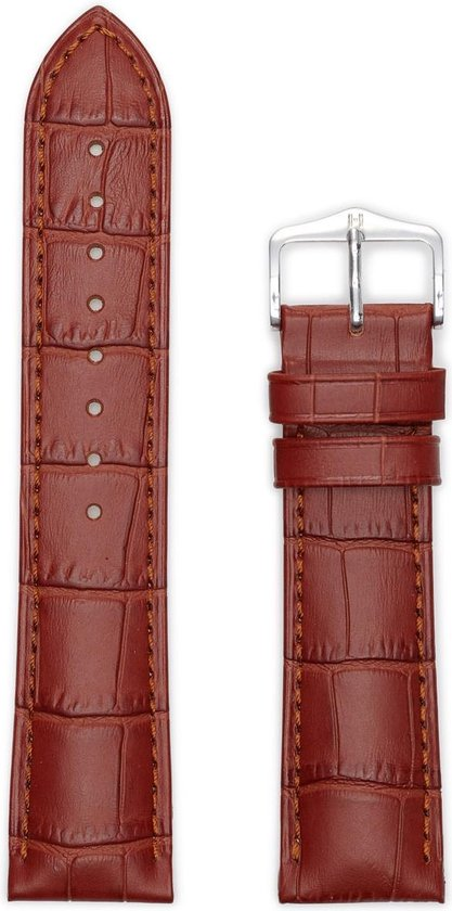 Hirsh Horlogeband Duke Goudbruin - Leer - 22mm