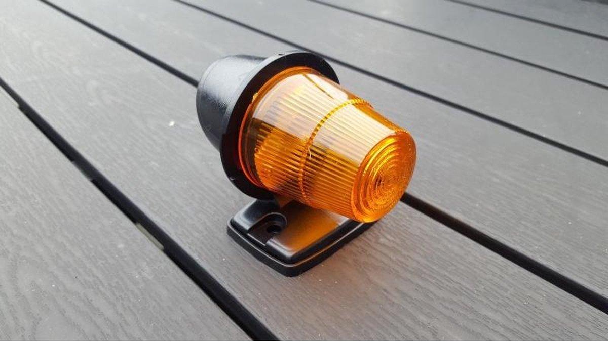 SIM 3122 Autolamp - amber/oranje toplicht - 12-24 volt