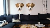 Rock that Wall muursticker puppy uit de Diamond Pet Collectie