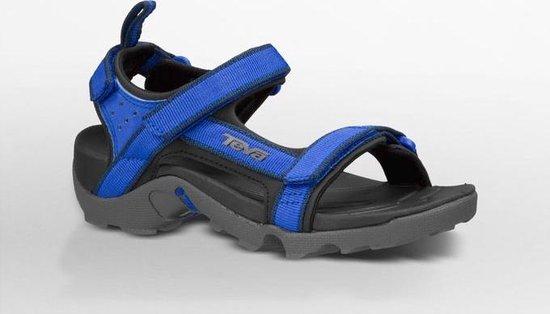 | Teva Tanza Kids Sandalen blauw zwart Maat 28