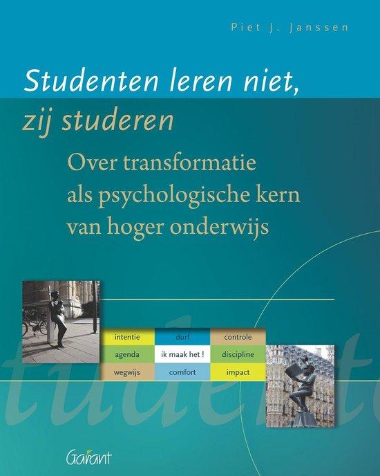 Studenten Leren Niet; Zij Studeren - Piet J. Janssen |