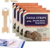 Gohh® Neusstrips 120 stuks (Small/Medium) Beter Ademen Minder Snurken