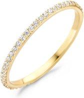 Blush 14 Karaat Gouden Ring (Maat: 46) - Goud