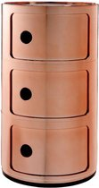 Kartell - Componibili kast Kartell - 3-deurs - koper