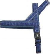 Hurtta Hondentuig Casual Harness Blauw Maat M- 70cm