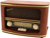 Roadstar HRA 1500/N Retro Radio Persoonlijk Analoog - Bruin