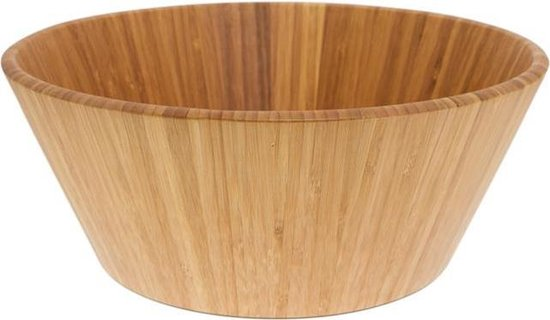 Point-Virgule Bamboo Saladeschaal 880-51300 - Rond - Hout
