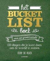 Omslag Het Bucketlist boek voor een groene wereld