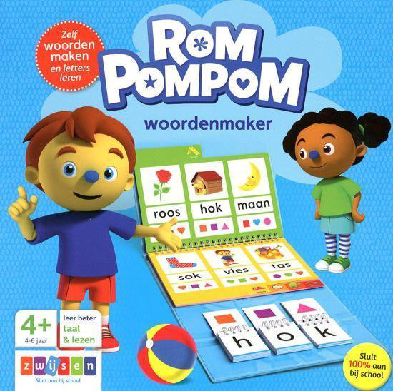 Afbeelding van Rompompom - Woordenmaker (4-6 jaar)