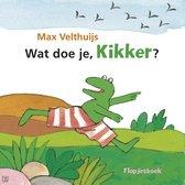 Boek cover Wat doe je, Kikker? van Max Velthuijs