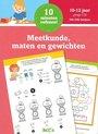 Afbeelding van het spelletje Kinderboeken Ballon Media 10 minuten oefenen meetkunde, maten en gewichten