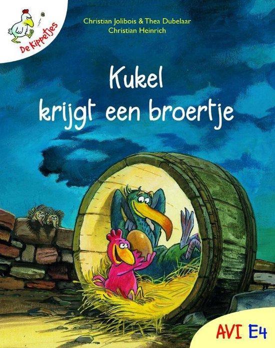 Boek cover Kinderboeken avi boek De kippetjes 1 van Christian Jolibois (Hardcover)