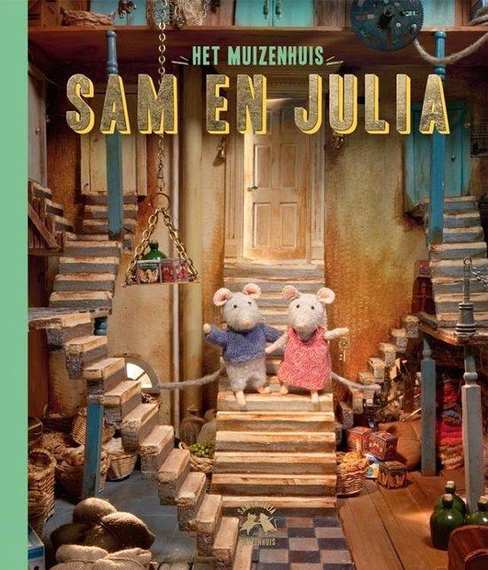Boek cover Het Muizenhuis  -   Sam en Julia van Karina Schaapman (Hardcover)
