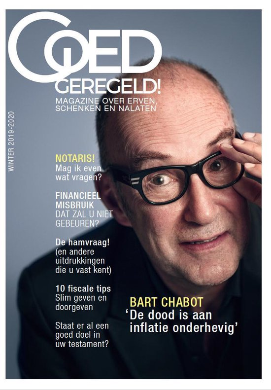 Goed Geregeld! Magazine winter 2019-2020