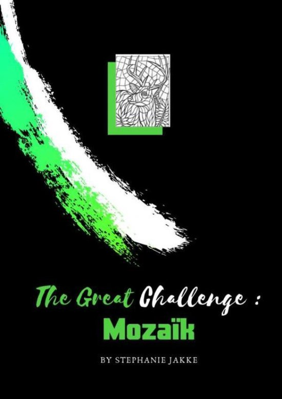 volwassenen kleurboek De Grote Uitdaging : MOZAÏK - Emmy Sinclaire  