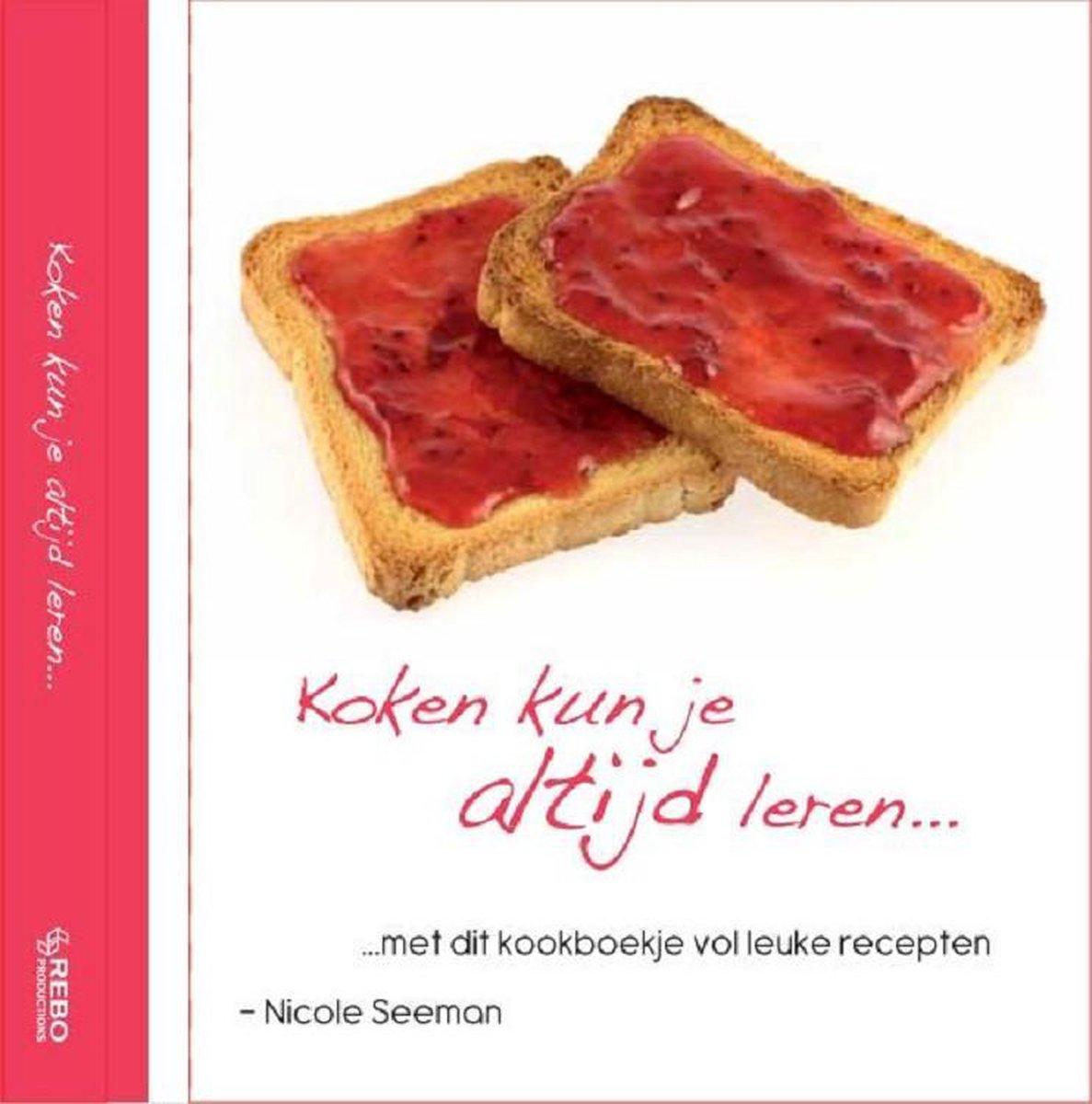 Kinderboeken Rebo Koken - Koken kun je altijd leren. 8+