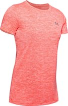 Under Armour Tech SS C-Twist Dames Sportshirt - Maat L - Beta