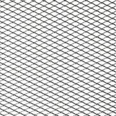AutoStyle Racegaas aluminium - ruitdesign 16x8mm - 125x25cm