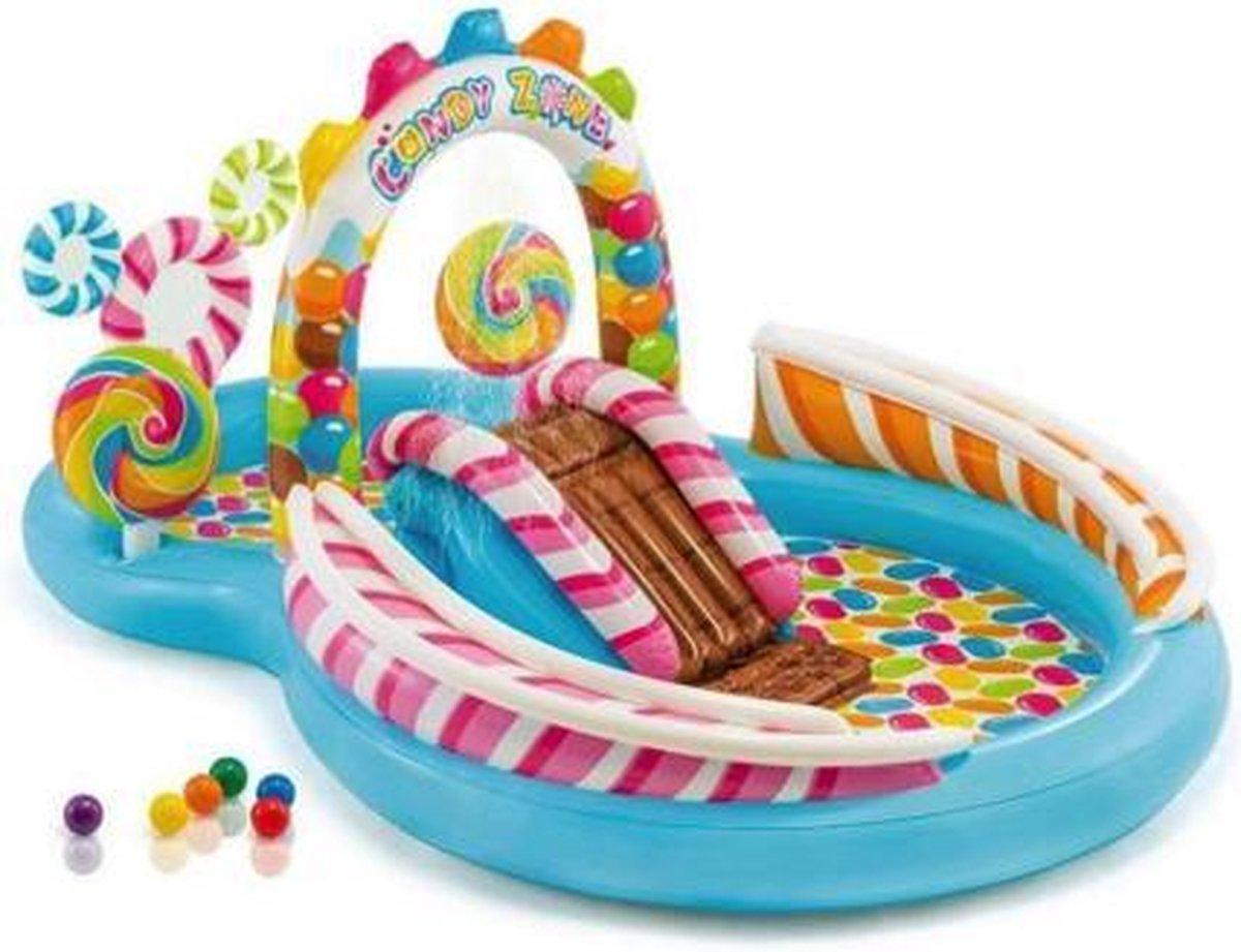 Intex kinderzwembad Candy Zone 295 x 191 x 130 cm