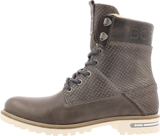 Bjorn Borg Kenna Hgh Crc Ankle Boot/bootie Women Grey 39 Gn1aby