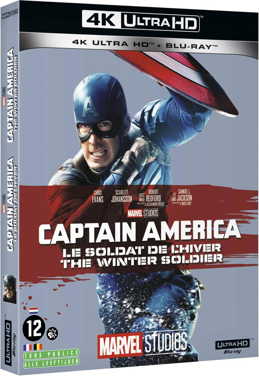 Captain America: The Winter Soldier (4K Ultra HD Blu-ray) (Import)-