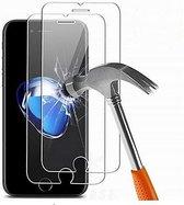 3 stuks screenprotector beschermglas voor iPhone 7 en iPhone 8  beschermglas glazen bescherming voor scherm voor iPhone 7 en iPhone 8