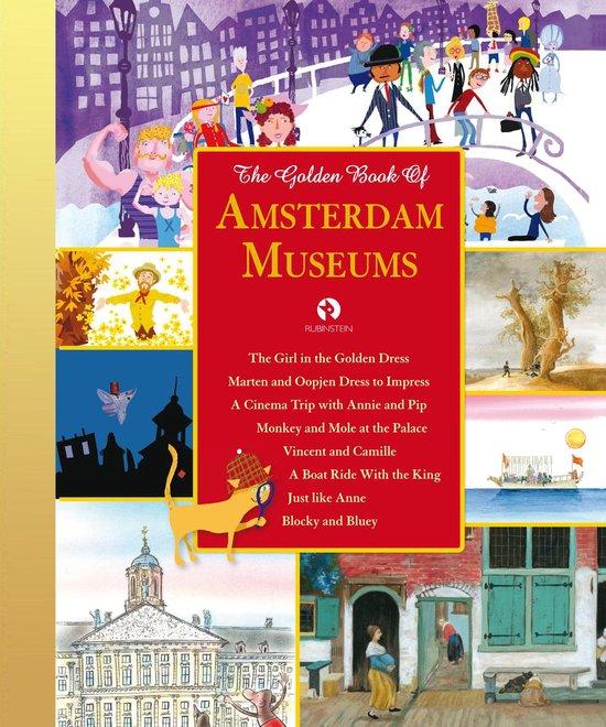 Omslag van Gouden Voorleesboeken  -   The Golden Book of Amsterdam Museums