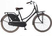 Nogan Vintage Transportfiets - Meisjes - Matt Black - 26 inch