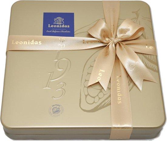 Leonidas Gouden Bonbon Blik - 16 stuks
