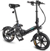 FIIDO D3 Elektrische fiets - Zwart