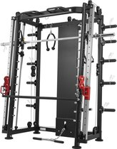 Gorilla Sports Multifunctionele Smith Machine Full body training