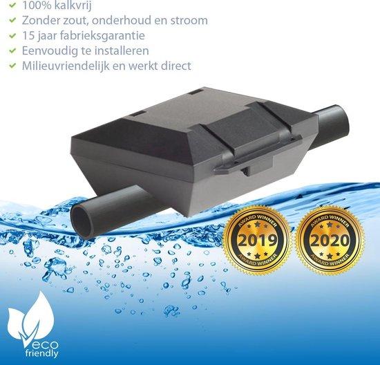 ✅ AlpinPro® Antikalksysteem Black Edition - voor alle Tyleen waterleidingen (magneet waterleiding) ☆ hét waterontharder alternatief | Antikalk | Kalkaanslag | Water 4000 | Douche filter 1000 | Magnetisch | > 20.000 Gauss / 2.0 Tesla