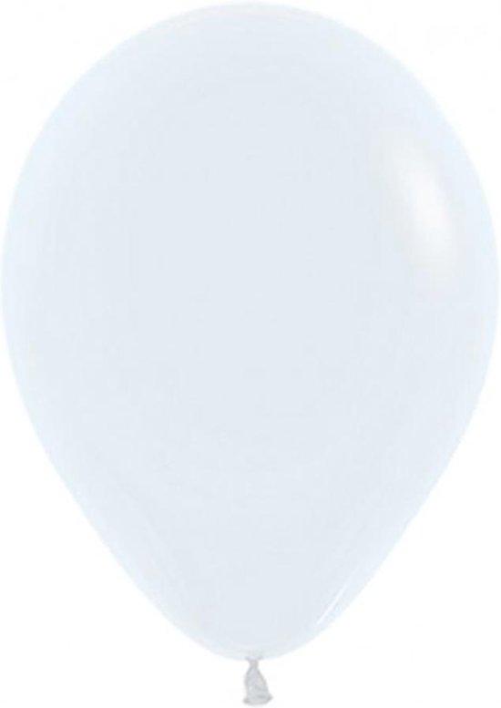 Ballon wit 30cm/12