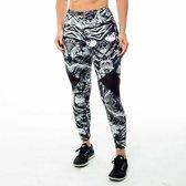 High waist sport legging dames   Graffiti beasts   Streetmax   Unieke graffitiprint - Coly -  Maat L