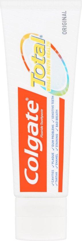 Colgate Total Original Tandpasta 4x 75 ml