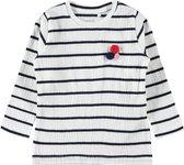 Name it Gestreept T-T-Shirt Lange Mouwen - Dark Sapphire - Maat 98