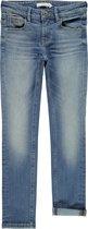 Name it Extra Slim Theo Spijkerbroek - Medium Blue Denim - Maat 116