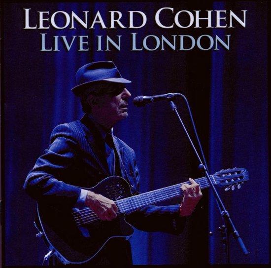 CD cover van Live In London van Leonard Cohen