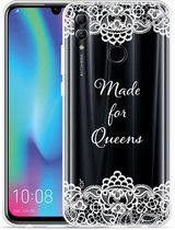 Huawei Honor 10 Lite Hoesje Made for queens