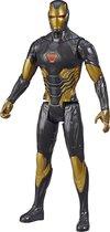 Iron Man Gold Avengers Titan Hero Blast Gear - Speelfiguur 30cm