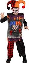 Monster & Griezel Kostuum | Scary Joker | Jongen | Maat 176 | Halloween | Verkleedkleding